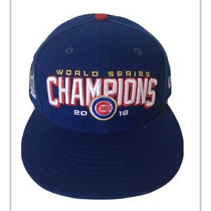 Chicago Cubs New Era 59FIFTY MLB World Series 2016